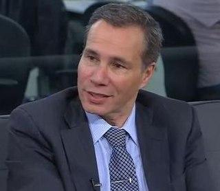 Alberto Nisman Argentine lawyer (1963-2015)