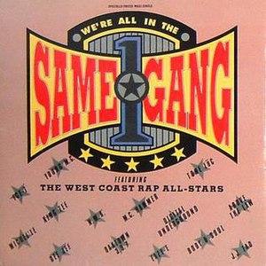 We're All in the Same Gang - Image: Allinthesamegang