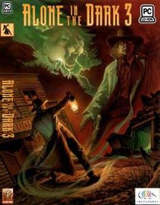 Alone in the Dark 3 - MS-DOS version box art