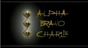 Alpha Bravo Charlie - The opening title screen for Alpha Bravo Charlie