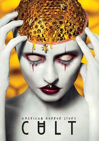 American Horror Story: Cult - Promotional poster and home media cover art