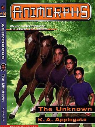 The Unknown (novel) - Cassie morphing into a horse.