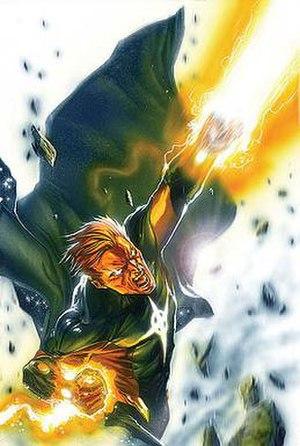 Quasar (comics) - Image: Annihilation Nova 3 art