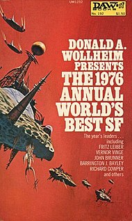 <i>The 1976 Annual Worlds Best SF</i> Science fiction anthology