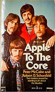<i>Apple to the Core</i> book by Peter McCabe
