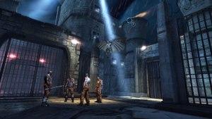 Batman: Arkham Origins Blackgate - Image: Arkham Origins Blackgate Glide Kick