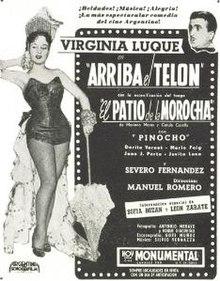 Risultati immagini per ARRIBA EL TELON pelicula