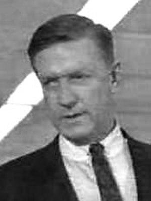 Art Gilmore - Art Gilmore in Dragnet in 1956