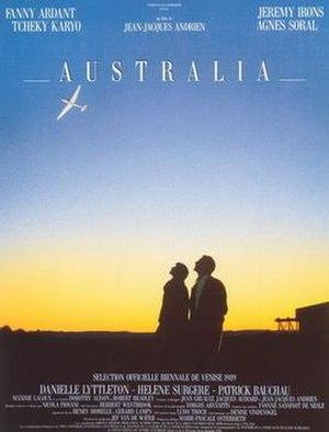 Australia (1989 film) - Image: Australia movie poster 1989