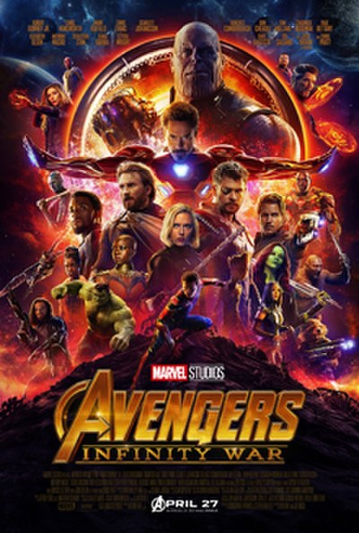 Picture of a movie: Avengers: Infinity War