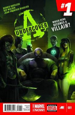 Image result for Avengers Undercover