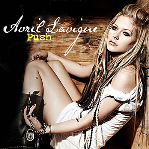 Push (Avril Lavigne song) - Image: Avril Lavigne Push official cover