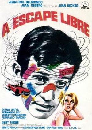 Backfire (1964 film) - Film poster