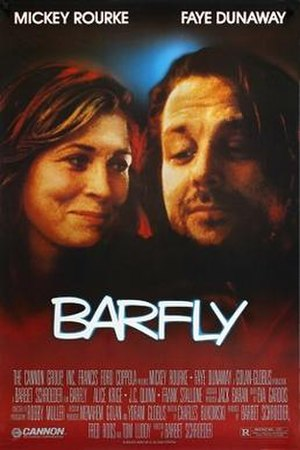 Barfly (film) - Theatrical release poster