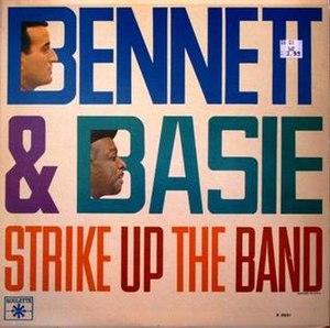 Strike Up the Band (album) - Image: Basie Swings Bennett Sings 2