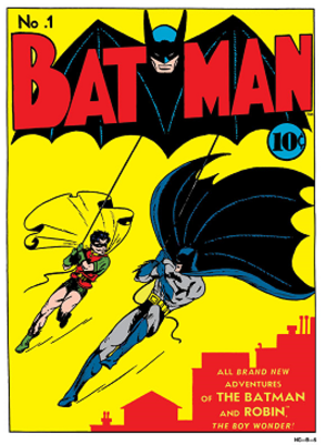 Batman (comic book) - Image: Batman Comic Issue 1,1940