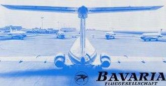 Bavaria Fluggesellschaft - Image: Bavaria Fluggesellschaft (logo)
