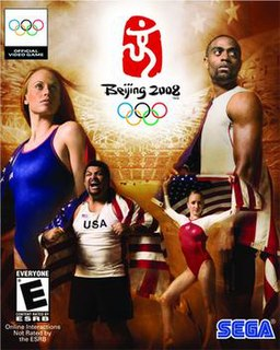 <i>Beijing 2008</i> (video game) 2008 sports video game