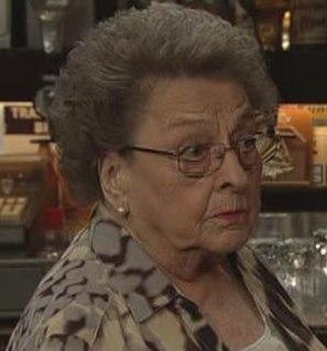 Betty Williams (<i>Coronation Street</i>) Fictional character in the TV soap Coronation Street