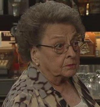 Betty Williams (Coronation Street) - Image: Betty Driver Final Appearance