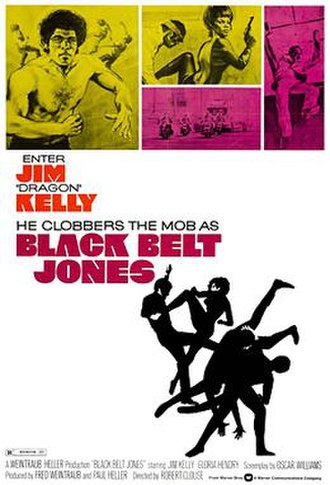 Black Belt Jones - Theatrical release poster