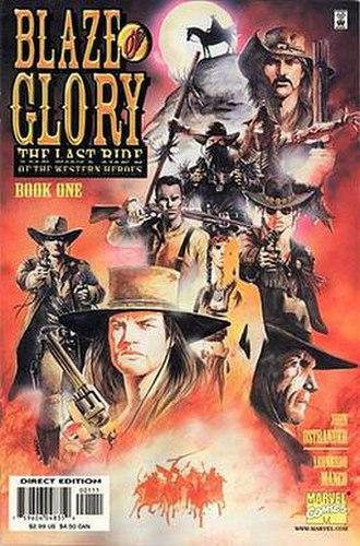 Blaze of Glory: The Last Ride of the Western Heroes - Image: Blaze Glory LRWH1