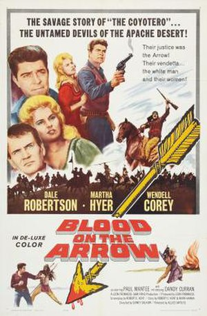 Blood on the Arrow - Image: Blood on the Arrow Film Poster