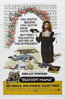<i>Bloody Mama</i> 1970 film by Roger Corman