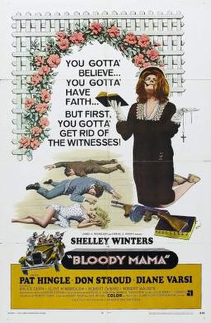 Bloody Mama - Theatrical release poster