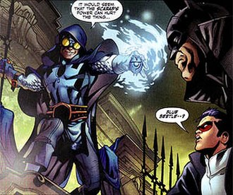 Blue Beetle - The Earth-19 Blue Beetle.