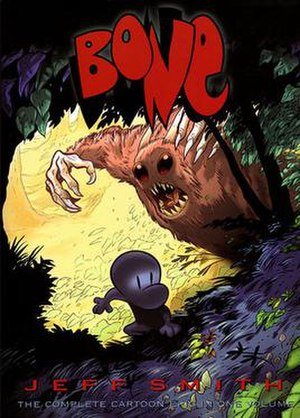 Bone (comics) - Cover art of Bone: The Complete Cartoon Epic in One Volume