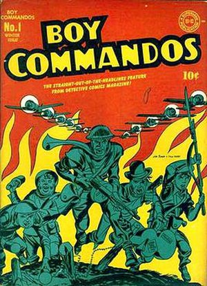 Boy Commandos - Image: Boy Commandos 1