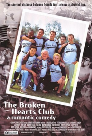 The Broken Hearts Club: A Romantic Comedy - DVD release cover