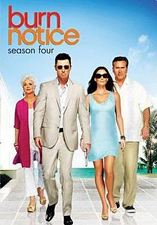 <i>Burn Notice</i> (season 4)