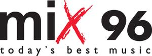 CJFM-FM - Mix 96 logo