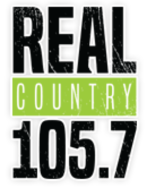 CIBQ-FM - Image: CIBQ Real Country 105.7 logo
