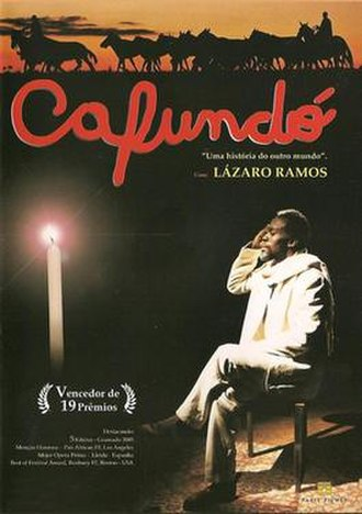 Cafundó (film) - Theatrical release poster
