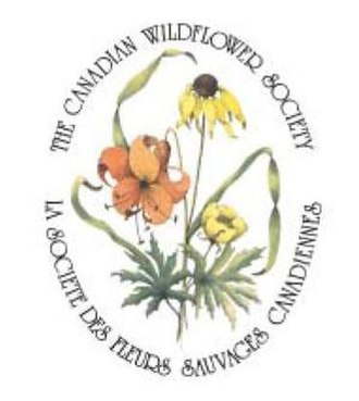 North American Native Plant Society - The logo of the Canadian Wildflower Society created by Pamela Meacher