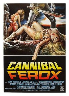 <i>Cannibal Ferox</i> 1981 film by Umberto Lenzi