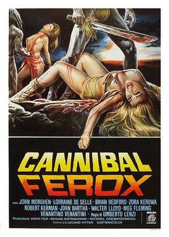 Cannibal Ferox - Image: Cannibalferoxposter