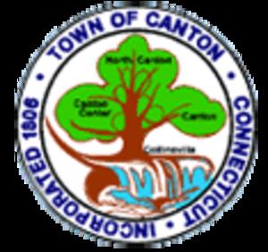 Canton, Connecticut - Image: Canton C Tseal