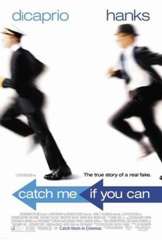 Catch Me If You Can - Theatrical release poster