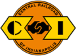 Central Railroad of Indianapolis - Image: Central Railroad of Indianapolis logo