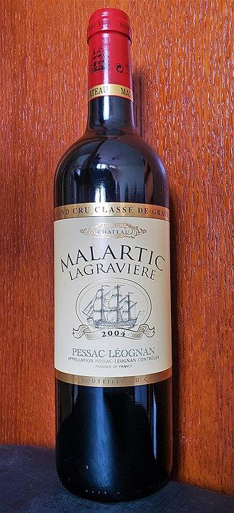 Château Malartic-Lagravière - Grand Vin 2004