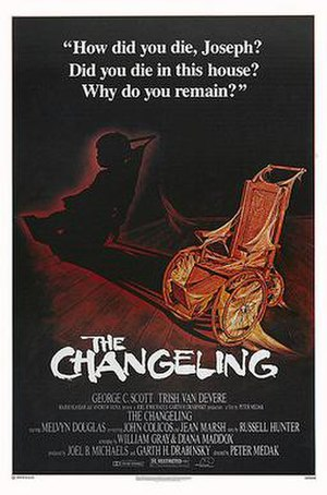 The Changeling (1980 film) - Theatrical release poster