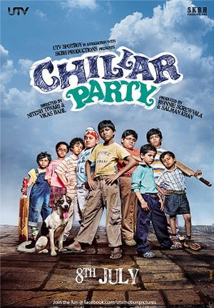 Chillar Party - Theatrical release poster