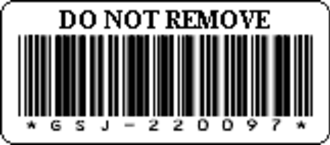 Code 39 - A Code 39 Barcode Label
