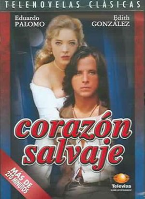 Corazón salvaje (1993 TV series) - Corazón salvaje DVD cover