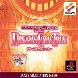 Dancing Stage featuring Dreams Come True PlayStation cover art.png
