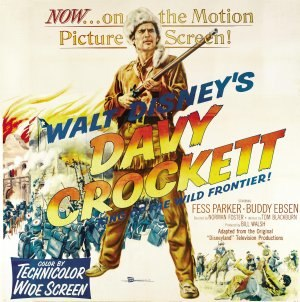 Davy Crockett, King of the Wild Frontier - Image: Davy Crockett, King of the Wild Frontier Film Poster